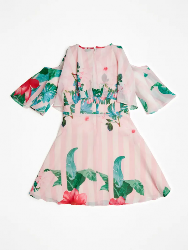 Guess Παιδικό Φόρεμα Chiffon Girl J02K33WB450 P00H e dshop