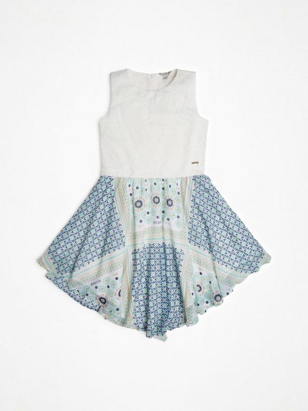 Guess Φόρεμα Mixed Fabric Girl J02K10WCSC0 p748 e dshop